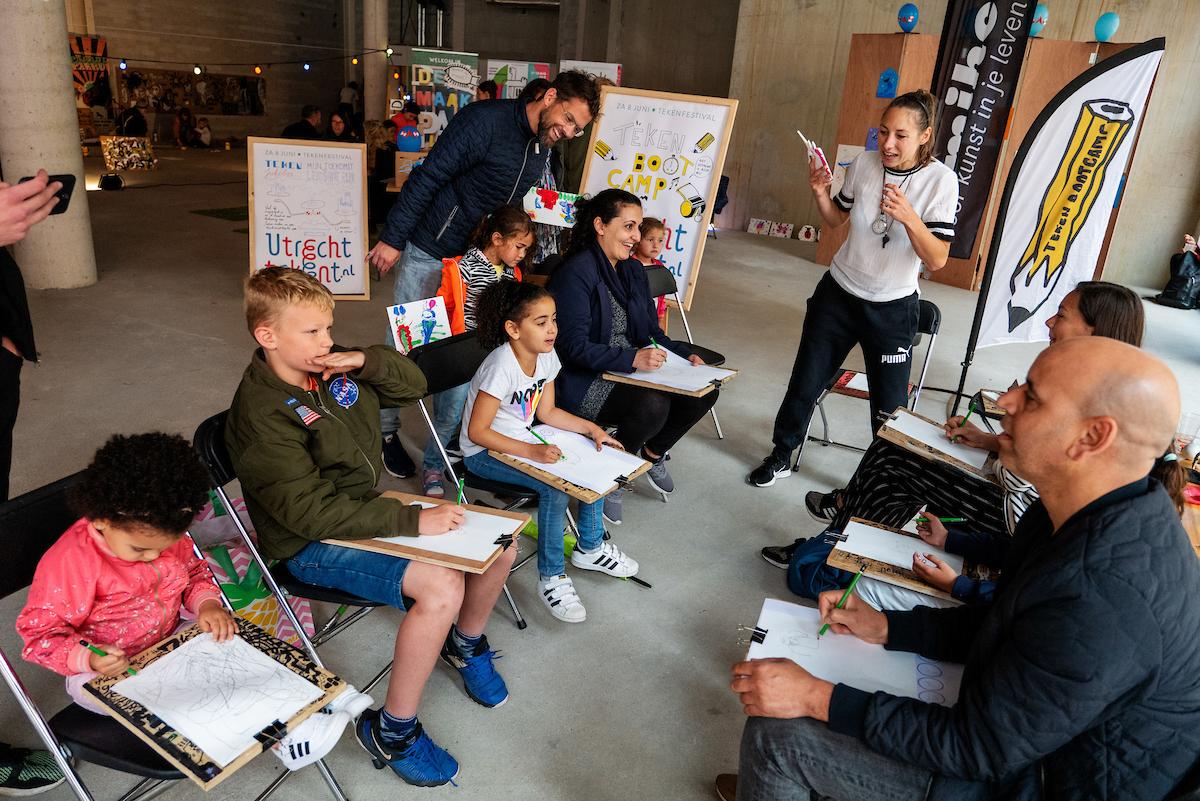 Workshop: tekenbootcamp door Katja Fred